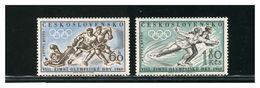 CECOSLOVACCHIA  - Giochi Olimpici 1960  - SQUAW VALLEY - Invierno 1960: Squaw Valley