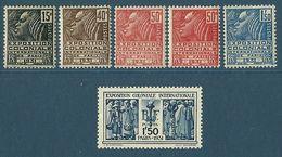 Série Complète - Exposition Coloniale Internationale De Paris - 1931 - Unused Stamps