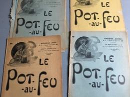 Le Pot Au Feu (Journal De Cuisine Pratique & D' Économie Domestique) : 4 N° 1903/1904 & 1907 (1903 : N°13 & 18,comple - Bücher, Zeitschriften, Comics