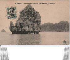 Tonkin-Baie D'Along.L'Encrier Dans Le Chenal De L'Hamelin - Viêt-Nam