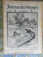 JOURNAL DES VOYAGES 30/07/ 1911 INDOCHINE FEMME LOLO ANNAM THEATRE ANNAMITE DUPETIT THOUARS ABOUKIR - Periódicos