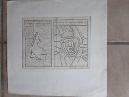 PLAN DE LA VILLE DE LA SU -TCHEOU - FOU C.1760  CHINA CHINE AFMETINGEN 27 CM OP 20 CM - Maps