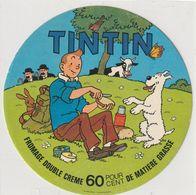 Ancienne étiquette De Fromage Tintin - Käse