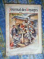 JOURNAL DES VOYAGES 06/08/ 1911 JAPON NINZURU MILITARIA CANON AFRIQUE SOUDAN EQUATEUR MADAGASCAR TANANARIVE AVIATION - Periódicos
