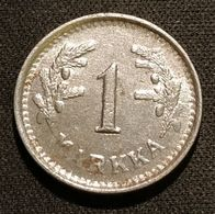 FINLANDE - FINLAND - 1 MARKKA 1950 - Fer - Iron - KM 30b - Finnland