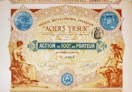 """ACIERS YRSUR"" – Charles Crabbe - Industrie"