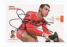CYCLISME   Tour De France Autographe  KEVIN SIREAU - Ciclismo