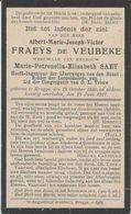BP Fraeÿs De Veubeke Albert Marie Joseph Victor ( Brugge 1850-1917) - Alte Papiere