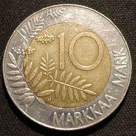 FINLANDE - FINLAND - 10 MARKKAA 1993 - Bimétallique - KM 77 - Finnland