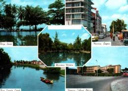CPM - NIGERIA - SALUTATION De .... Multivues - Edition Viewcards Ltd - Nigeria