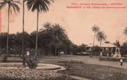 CPA - KONAKRY - PLACE Du GOUVERNEMENT - Edition Fortier - Guinée