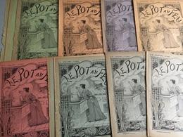 Le Pot Au Feu (Journal De Cuisine Pratique & D' Économie Domestique) :14 N° De 1895 + Le Récapitulatif Des Tables De Ma - Bücher, Zeitschriften, Comics