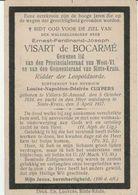 BP Vissart De Bocarmé Ernest Ferdinand (Villers-St.-Amand 1834 - Sint-Kruis 1917) - Provincieraadslid - Collections