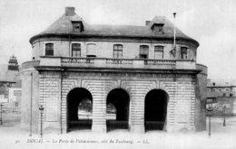 B69273 Cpa Douai - La Porte De Valenciennes - Douai