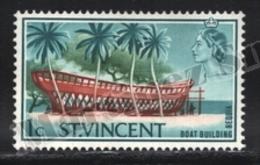 St Vincent 1967 Yvert 233, Ships. Industry. Boat Building, Landscapes - MNH - St.Vincent (1979-...)