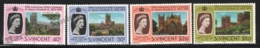 St Vincent 1978 Yvert 511-14, Royalty. 25th Anniv Coronation Queen Elizabeth. Architecture. Cathedrals - MNH - St.Vincent (1979-...)