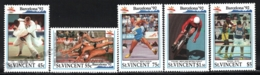 St Vincent 1992 Yvert 1475-79, Sports. Barcelona 92 Olympic Games, Athletes - MNH - St.Vincent (1979-...)