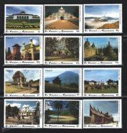 St Vincent 1993 Yvert 1941-52, Tourism. Architecture. India Monuments. Indopex 93 Philatelic Exhibition - MNH - St.Vincent (1979-...)