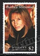 St Vincent 1993 Yvert 1983, Famous People. Singer, Barbra Streisand - MNH - St.Vincent (1979-...)