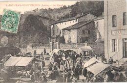 Saint-Jean-Soleymieux - Le Marché - Saint Jean Soleymieux