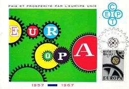 LOT DE 10 CARTES POSTALES DE  EUROPA DIVERS  . - Europa-CEPT