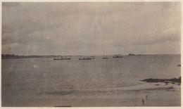 1920 Photo Format Carte Postale La Rade De Saint Malo - Barcos