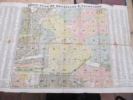 Plan De Bruxelles - Europe