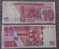 Zimbabwe - 10 Dollars 2020 Pick New UNC Lemberg-Zp - Simbabwe