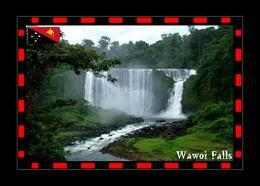 Papua New Guinea Wawoi Falls New Postcard Papua-Neuguinea AK - Papoea-Nieuw-Guinea