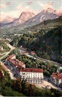 Unter-Engadin - Tarasp, Kurhaus Mit Blick Auf Vulpera (3813) * 4. 6. 1912 - GR Grisons