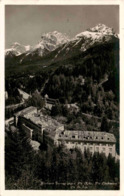 Kurhaus Tarasp Gegen Piz Ajüz, Piz Lischanna, Piz St. Ion (33250) * 18. 6. 1930 - GR Grisons