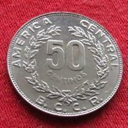 Costa Rica 50 Centimos 1990 UNCºº - Costa Rica