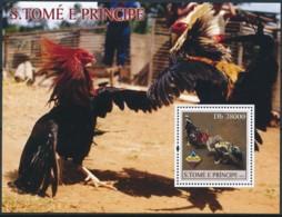 [401475]TB//**/Mnh-Sao Tomé-et-Principe 2004 - Coq, Nature - Birds