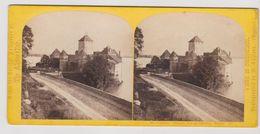 Suisse, Chateau Chilllon, Lac Du Geneve - Stereoview Stereophoto 3D - 1863 /1868 - Fotos Estereoscópicas