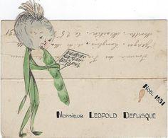 Image Chromo   Fiancailles En Relief  Annee  Noel 1931 Musique - Engagement