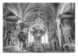 HAUTELUCE - Intérieur De L'église Saint-Jacques D'Assyrie - France