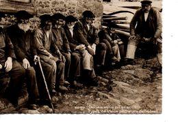CPSM DOUARNENEZ TREBOUL Types De Vieux Pêcheurs De Tréboul - Douarnenez