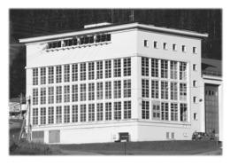 HAUTELUCE - Centrale électrique - France