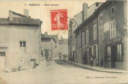 55 STENAY - RUE CARNOT ( DEVANTURE  VERDEAU - DEBITANT  - EPICERIE ) - Stenay