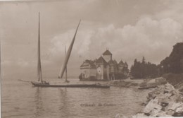 Bâteaux - Pêche - Lac Léman Château De Chillon - Editions Perrochet Et David - Pêche