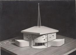 Novel-Annecy 74 - Eglise Saint Louis De Novel - Maquette Réalisation 1960 - Architecte M. Saint-Maurice - Annecy
