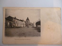 Thénezay L Ancienne église - Thenezay