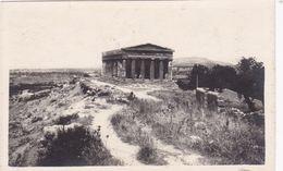 RP: TAORMINA, Italy, 1910-20s; Ancient Temple - Messina