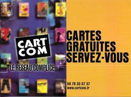 CART'COM  LE RÉSEAU COMPLICE CARTES GRATUITES SERVEZ-VOUS TEL 04 78 33 57 37 - Théâtre
