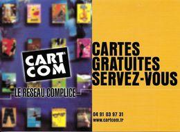 CART'COM  LE RÉSEAU COMPLICE CARTES GRATUITES SERVEZ-VOUS TEL 04 91 03 97 31 - Théâtre