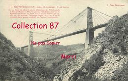 PONTS ☺♦♦ PONT GISCLARD - PONT SUSPENDU FERROVIAIRE POUR TRAIN ELECTRIQUE - BRIDGE  BRUCKE - Ponts