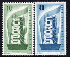 Germany 1956 Europa CEPT Set Of 2, Lightly Hinged Mint (A) - 1956