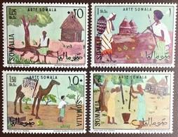 Somalia 1966 Art Animals Paintings MNH - Somalie (1960-...)
