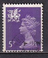 United Kingdom 1971 - Queen Elizabeth II - New Definitive Issue  - Regional Wales - 1952-.... (Elizabeth II)