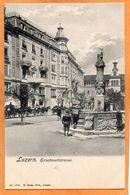 Lucerne Luzern Switzerland 1900 Postcard - LU Lucerne